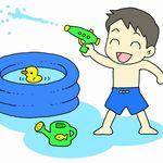 幼児の水遊びのおもちゃ。意外なアイデアや手作りおもちゃで楽しく遊ぼう
