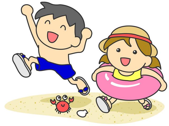 幼児と海に行くときの持ち物