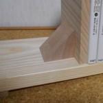 夏休みの工作に10分でできる簡単な本立て。木工ボンドの作品でもアイデア次第。