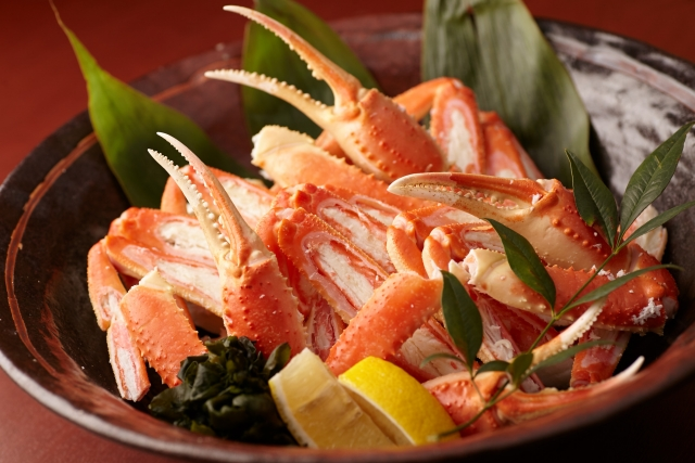 蟹の食べ方