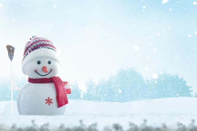 雪だるまの工作