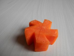Make a star with carrot3