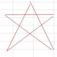 手書きで星を書く方法5
