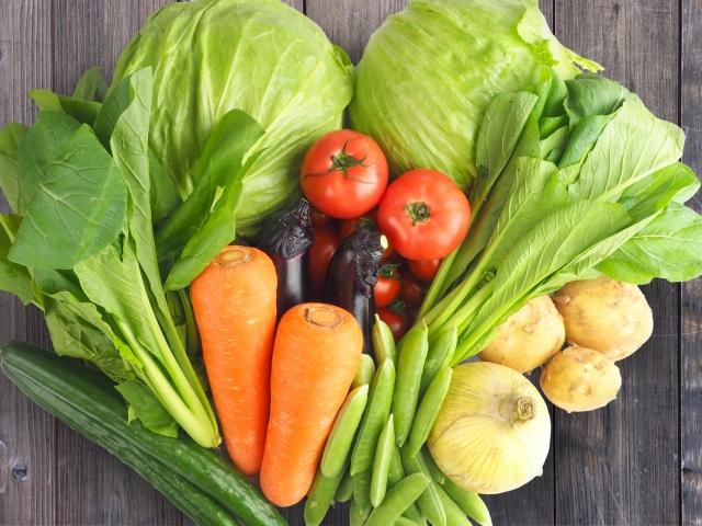 食物繊維の多い野菜