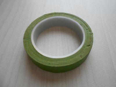 紙テープの笹の枝の作り方14
