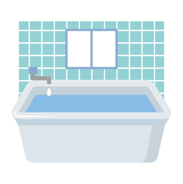 お風呂のブラインド掃除