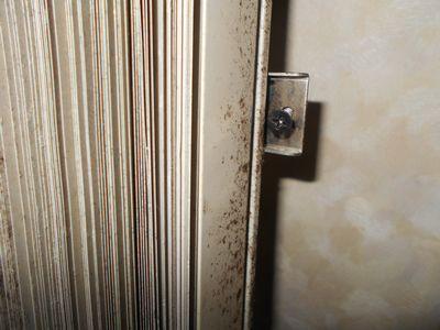 浴室のブラインド