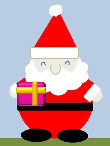 サンタさんとクリスマスプレゼント