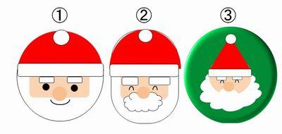 サンタクロースの顔のイラストの書き方かわいく簡単に書くコツを紹介