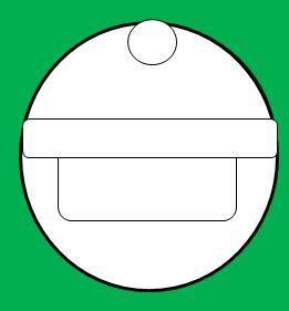 丸い顔のサンタの書き方3