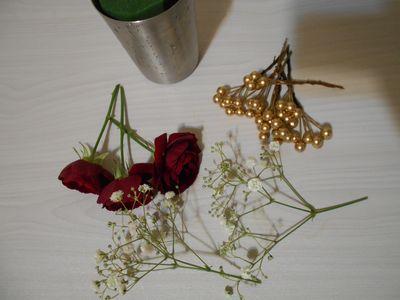 アレンジメントの花材