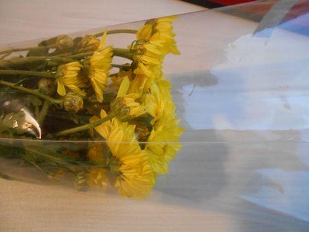 スーパーで買ったスプレー菊