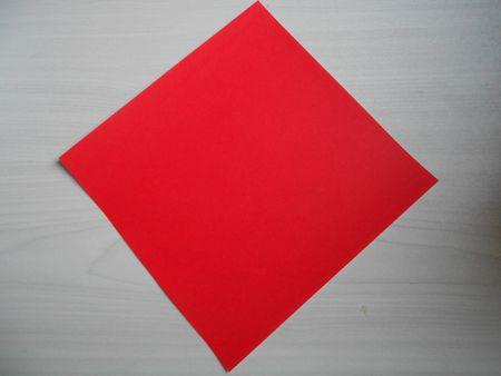 折り紙のお雛様の作り方1