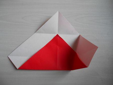 折り紙のお雛様の作り方9