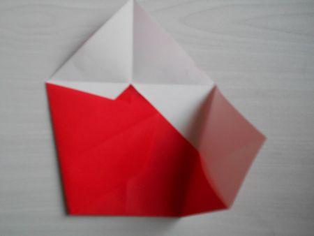 折り紙のお雛様の作り方10