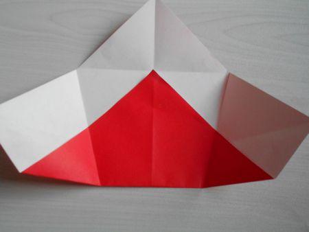 折り紙のお雛様の作り方11
