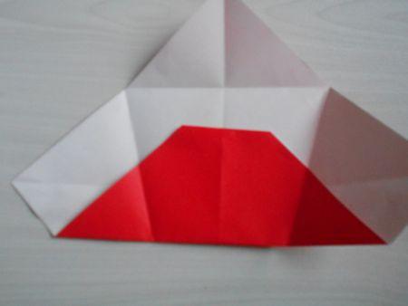 折り紙のお雛様の作り方12