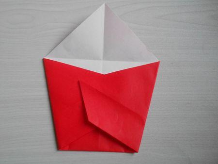 折り紙のお雛様の作り方13