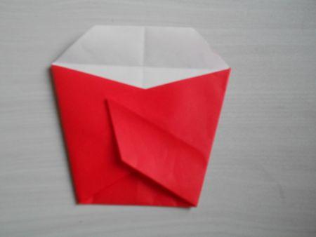 折り紙のお雛様の作り方14-1