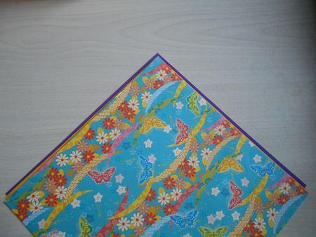折り紙のお雛様の作り方19