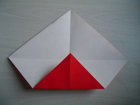 折り紙のお雛様の作り方4