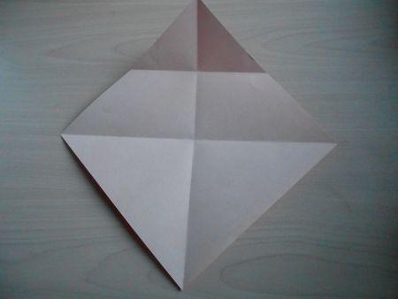 折り紙のお雛様の作り方5
