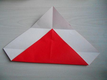 折り紙のお雛様の作り方6