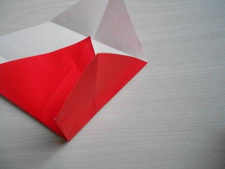 折り紙のお雛様の作り方7