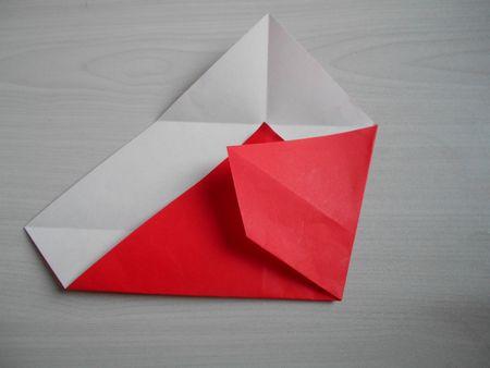 折り紙のお雛様の作り方8