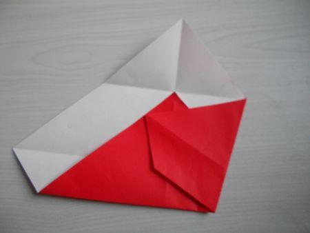 折り紙のお雛様の作り方8-2