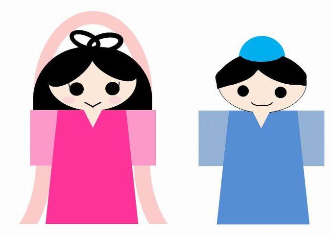 織姫と彦星のイラストの描き方