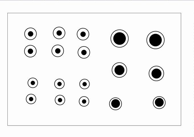 こいのぼりの目のイラスト