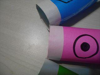 折り紙鯉のぼりの作り方9