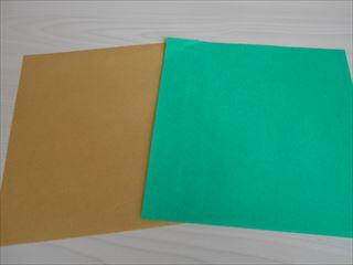 折り紙の兜の作り方1
