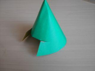 折り紙の兜の作り方11