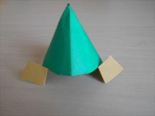 折り紙の兜の作り方12