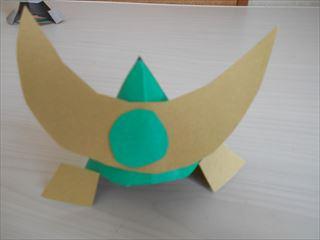折り紙の兜の作り方16