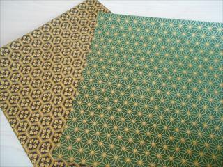 小紋模様の折り紙