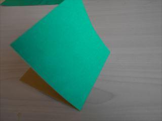 折り紙の兜の作り方4