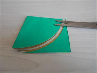 折り紙の兜の作り方5