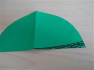 折り紙の兜の作り方7