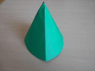 折り紙の兜の作り方8