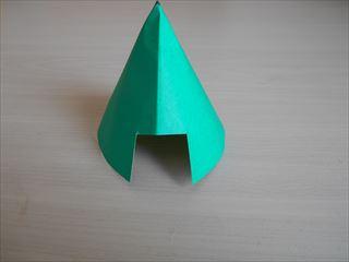 折り紙の兜の作り方9