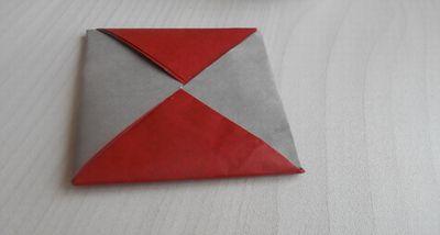 折り紙座布団
