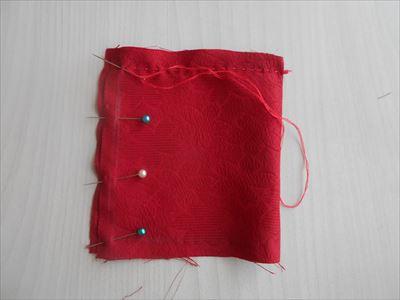 ミニ座布団を縫う2