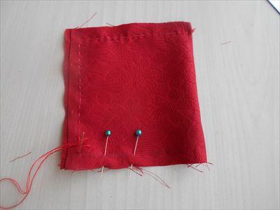 ミニ座布団を縫う3
