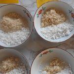 求肥の砂糖の割合