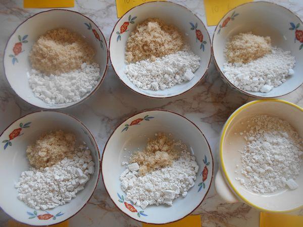求肥を作るときの砂糖と白玉粉の割合