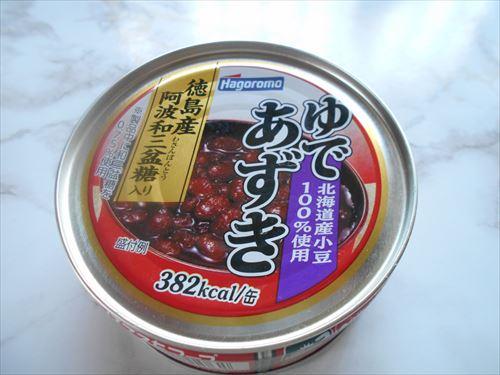 ゆであずきの缶詰