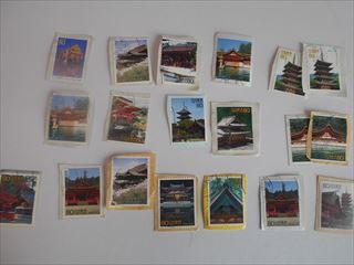 建造物の切手